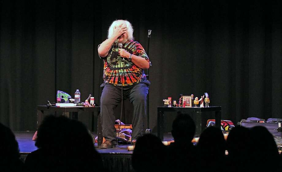 Wavy Gravy's one-man show is an unscripted strut down memory lane - different every night - with plenty of name checks and stories. Photo: Lance Iversen, The Chronicle