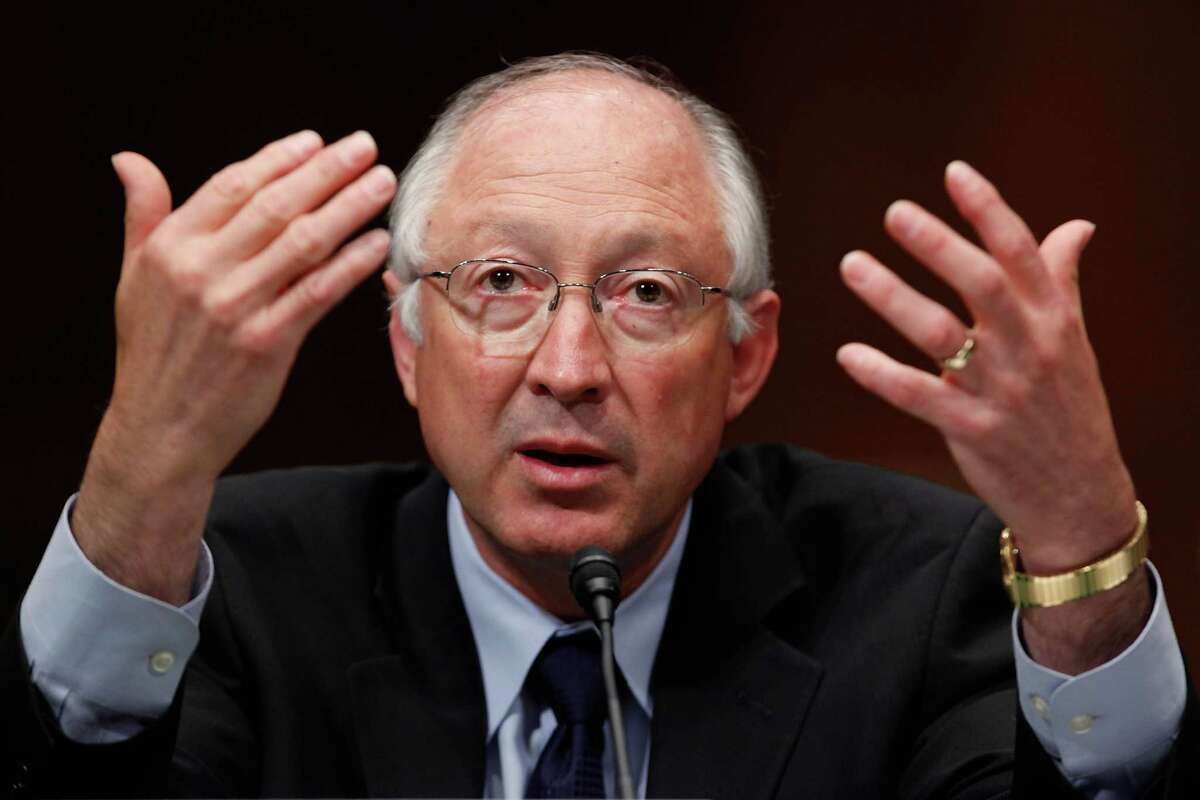 Ken Salazar joined Barack Obama on Capitol Hill as a senator in 2005 and then went on to become a member of his Cabinet.