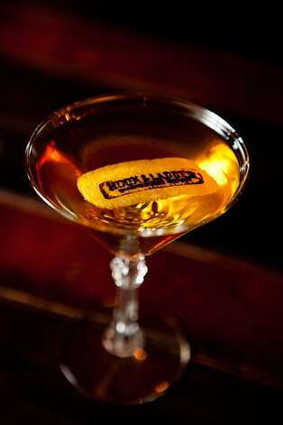 The Heavy Crown is a signature cocktail at the Hook & Ladder. Photo: Max Whittaker/Prime, Special To The Chronicle