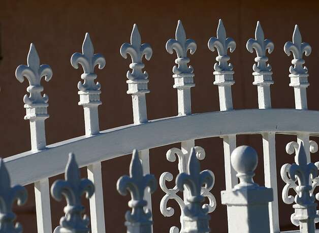Detail of a fence in front of Walawitch's home that was underwater just a year ago. Photo: Brant Ward, The Chronicle