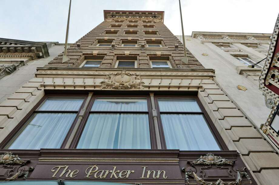 The Parker Inn is being renovated into extended stay, executive apartments as it prepares to emerge from bankruptcy, seen here on Monday  July 23, 2012 in Schenectady, NY.    (Philip Kamrass / Times Union) Photo: Philip Kamrass / 00018565A
