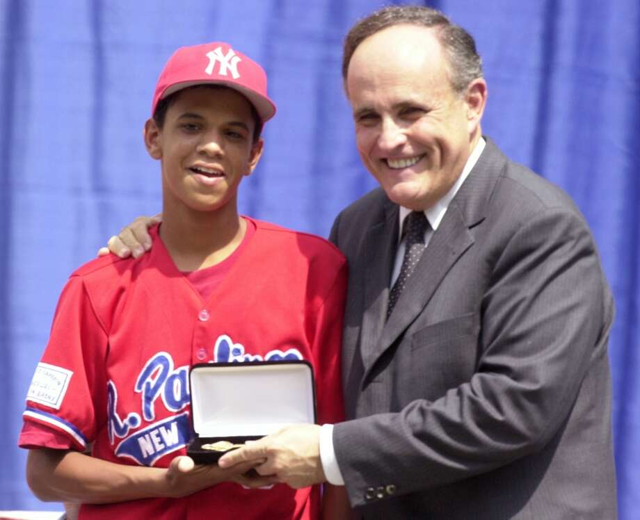2001 | Danny Almonte is too old for Little LeagueLittle League pitcher Danny Almonte (left) threw a perfect game and led his New York City team to the World Series as a 12-year-old. Or not. An investigation eventually found that Almonte, who was born in the Dominican Republic, was actually 14 and shouldn't have been eligible to play Little League ball. Photo: New York Daily News Archive, NY Daily News Via Getty Images / 2001/Daily News, L.P. (New York)