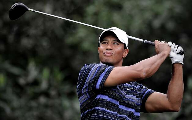 Tiger Woods is among the more than two dozen celebrities and public officials targetted by an as-yet unidentified group of hackers. Photo: PHILIPPE LOPEZ, AFP/Getty Images / 2009 AFP