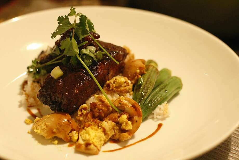 Roasted Vietnamese Pork Spare Ribs With Black Pepper Caramel Sauce Photo: Rashad Sisemore, The Chronicle
