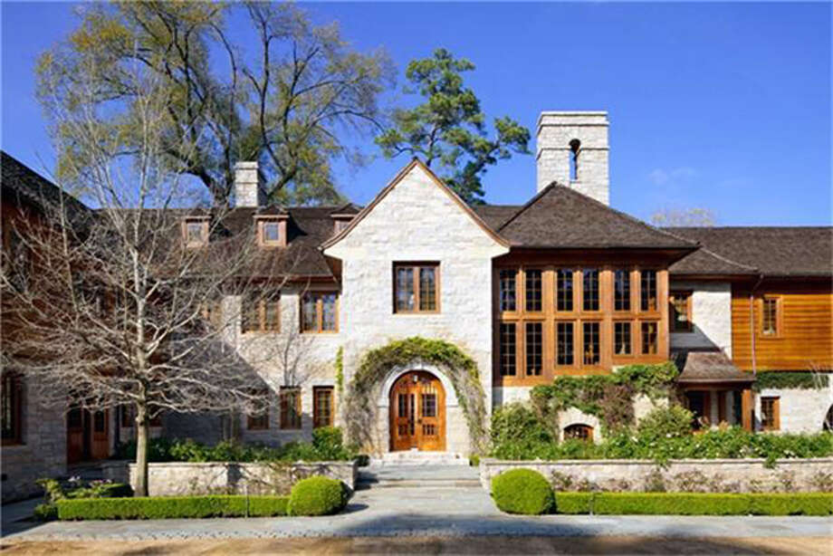 This 16,022 square-foot English country home spans 3.7 acres and was designed by noted Houston architectural firm Curtis & Windham. Photo: Martha Turner Sotheby's International Realty