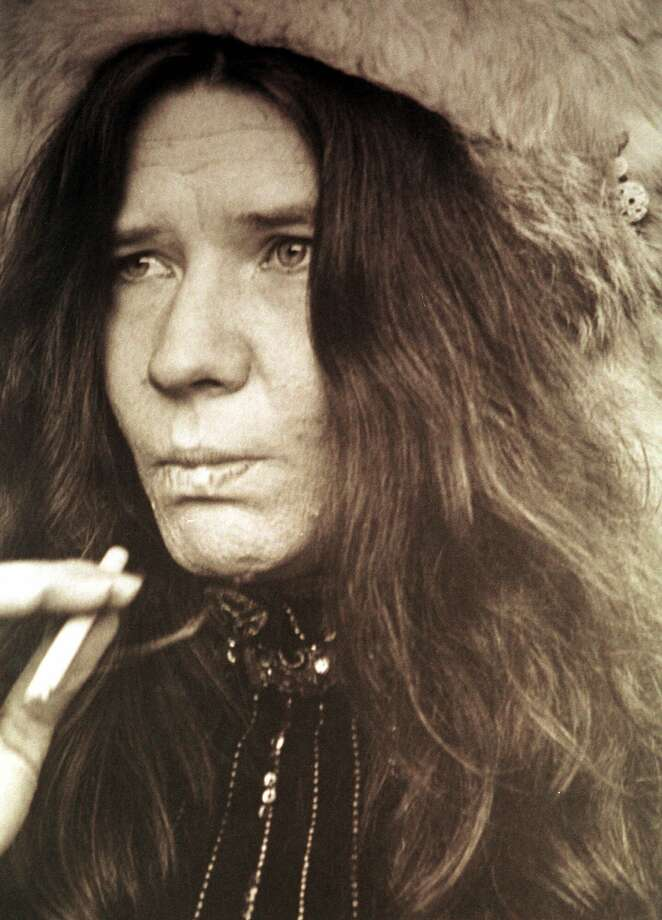 Janis Joplin is shown in San Francisco in 1967. The photo is part of an exhibit by Linda McCartney on display at the Rock and Roll Hall of Fame and Museum through Aug. 8 in Cleveland. Mrs. McCartney, who died of breast cancer in April 1998, was an award-winning professional photographer during her lifetime. (AP Photo/Linda McCartney, courtesy Rock and Roll Hall of Fame and Museum) Photo: LINDA MCCARTNEY, HO / AP1967