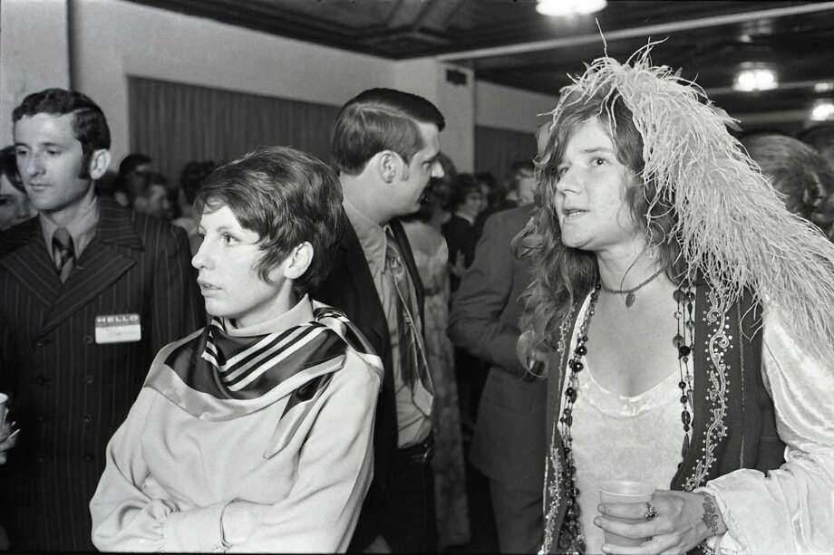 08/15/1970 - singer Janis Joplin atttends her high school reunion at the Goodhue Hotel in Port Arthur, Texas, August 15, 1970. It was the tenth year reunion for the Thomas Jefferson High School class of 1960. David Nance / Houston Chronicle Photo: David Nance, HC Staff / Houston Chronicle