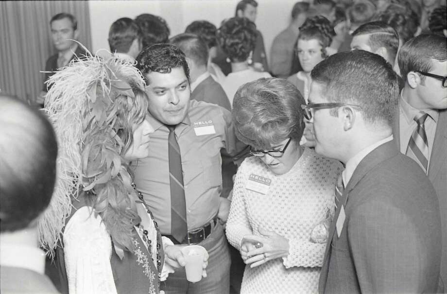 08/15/1970 - singer Janis Joplin atttends her high school reunion at the Goodhue Hotel in Port Arthur, Texas, August 15, 1970. It was the tenth year reunion for the Thomas Jefferson High School class of 1960. David Nance / Houston Chronicle Photo: David Nance, HC Staff / The Houston Chronicle