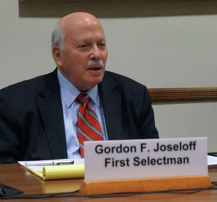 First Selectman Gordon Joseloff has announced that he will not seek a third term as first selectman in the November town election. Photo: Paul Schott / Westport News