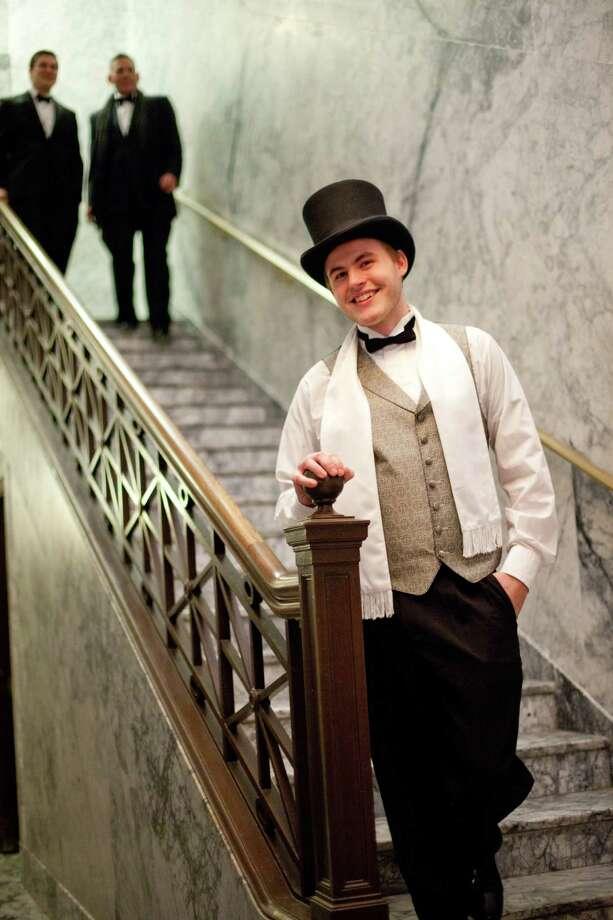 Evan Briggs wore his top hat. Photo: JOSHUA TRUJILLO, SEATTLEPI.COM / SEATTLEPI.COM