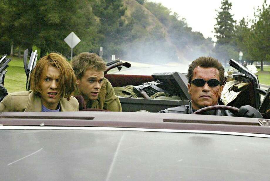 6. TERMINATOR 3: RISE OF THE MACHINES (2003): I'm braced to take heat for this pick. Yes, it's nowhere near as good as the first two Terminator movies. But it's entertaining and the ending actually makes sense in the context of the series. The Godfather Part III of action films. Photo: Photo: Robert Zuckerman