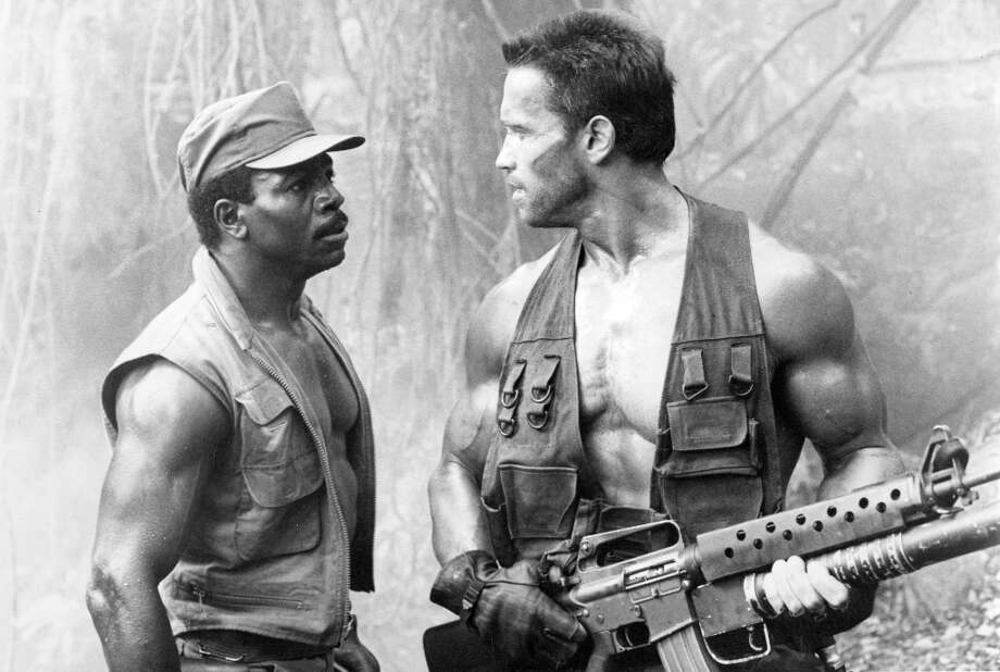 2. PREDATOR (1987): The worst-reviewed movie in the Top 7. I consider this a perfect action movie. The collection of actors is better than any Expendables cast. The story is lean and tense. And the ending delivers. The movie I'd most like to see Schwarzenegger sign up for a sequel. Photo: 20th Century Fox / ONLINE_YES