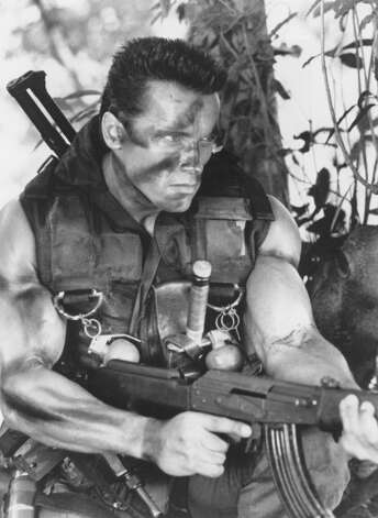 7. COMMANDO (1985): Not the best Schwarzenegger film, but it set a perfect tone, with self-reflective humor and over-the-top mayhem. It has the best Schwarzenegger character name (John Matrix) the best offspring (Alyssa Milano) and one of the Top 3 weapons (M202A1 FLASH rocket).