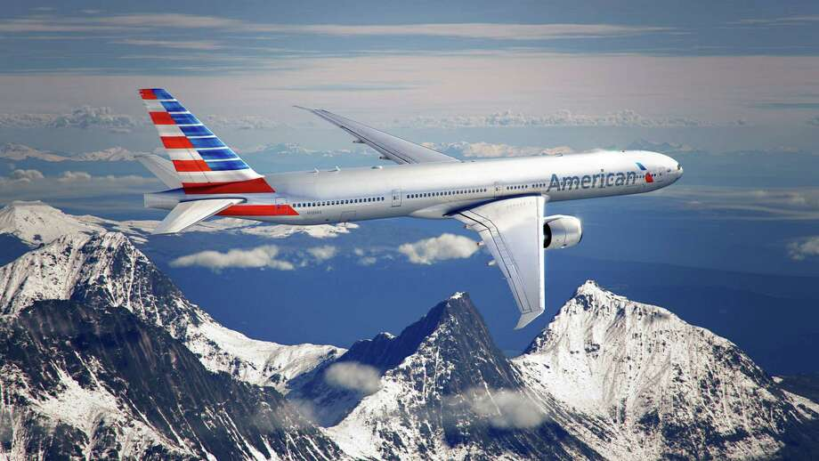 American Airlines' new logo and livery is depicted on an airplane. Photo: American Airlines