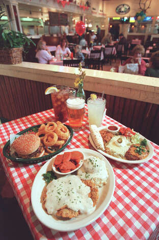 Mama's, various locations: Mama's has seven burgers, but the ones that get the most love are the beanburger and the half-pound Texas Twister that includes fried onion and jalapeño strips. Photo: Rick Hunter, EXPRESS-NEWS FILE PHOTO / SAN ANTONIO EXPRESS-NEWS