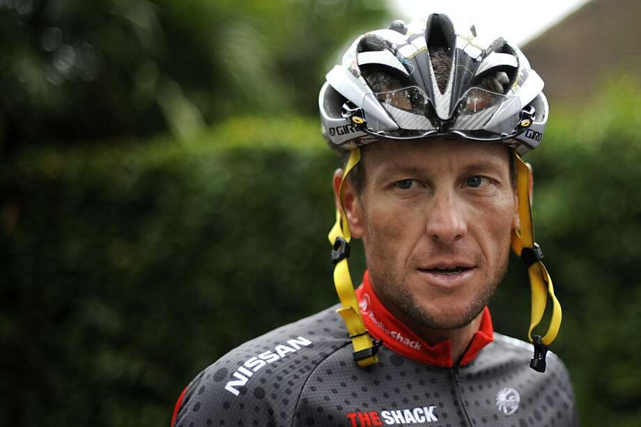 Lance Armstrong Photo: Nathalie Magniez, AFP/Getty Images