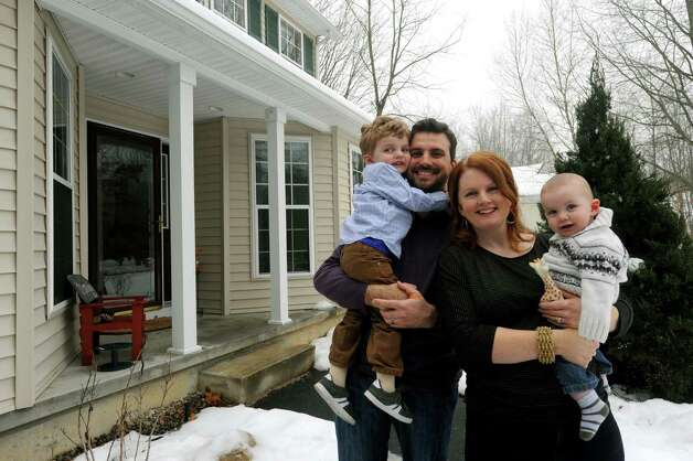 The home of Josh Trombley, Leigh Hornbeck and their two children 3-year-old Rushton Trombley and 7-month-olf Devlin Trombley on Saturday Jan. 12,2013 in  Gansevoort, N.Y. (Michael P. Farrell/Times Union) Photo: Michael P. Farrell
