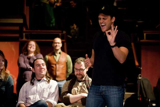 "Cheyenne Jackson is one of the Broadway stars featured in the behind-the-scenes documentary ""One Night Stand"" that is being shown in three area multiplexes on Wednesday, January 30, as part of a national screening at more than 450 theaters. Photo: Contributed Photo"