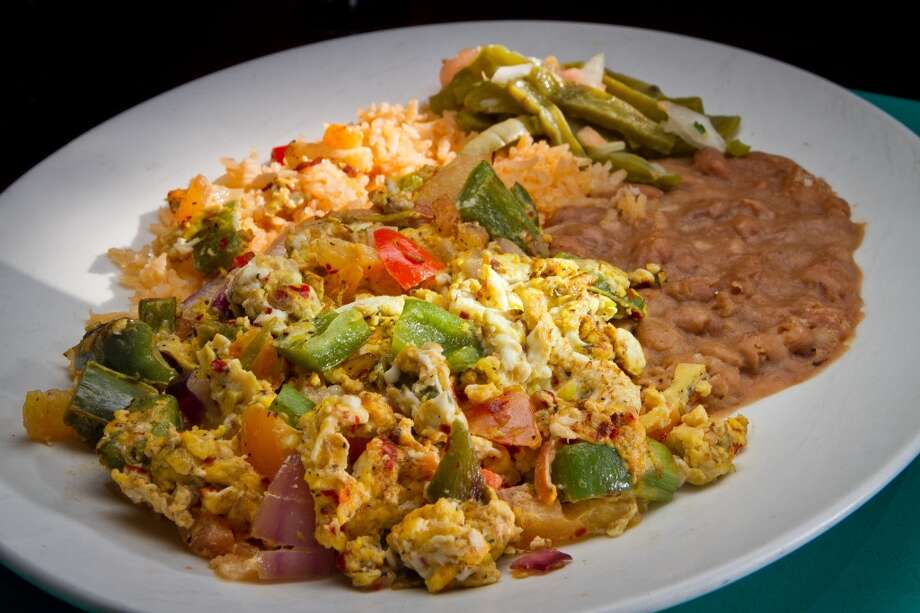 The Huevos a la Mexicana at San Jalisco.