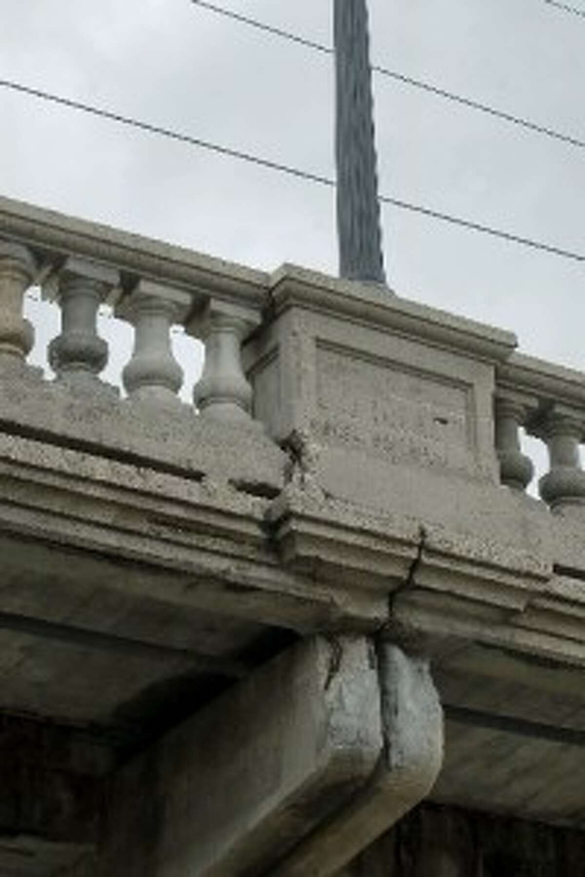 The Yale Street Bridge is going to get some shoring up pretty soon.