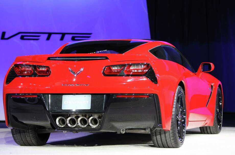The 2014 Corvette Stingray is introduced at the 2013 North American International Auto Show in Detroit, Michigan, January 14, 2013. AFP PHOTO/Geoff RobinsGeoff Robins/AFP/Getty Images Photo: GEOFF ROBINS, Stringer / AFP