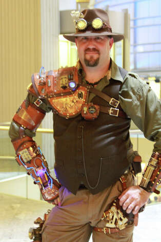 Incredible handmade steampunk costume. (RJ Foster/Flickr) Photo: Multiple
