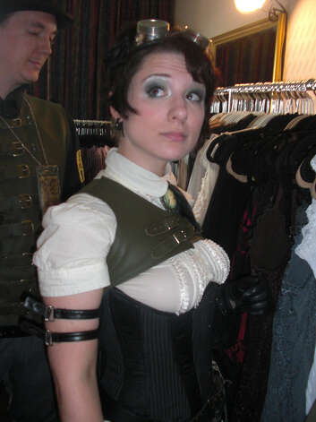 A young aficionado at one of the steampunk fairs growing in popularity around the globe. (Flickr) Photo: Multiple