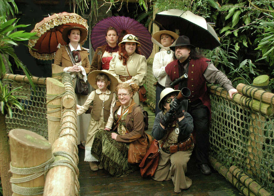 """A Steampunk Safari at the Woodland Park Zoo in 2009. Check out the group's main page for more photos and details related to  Steamcon and its upcoming events. (R. """"Martin"""" Armstrong) Photo: Multiple"""