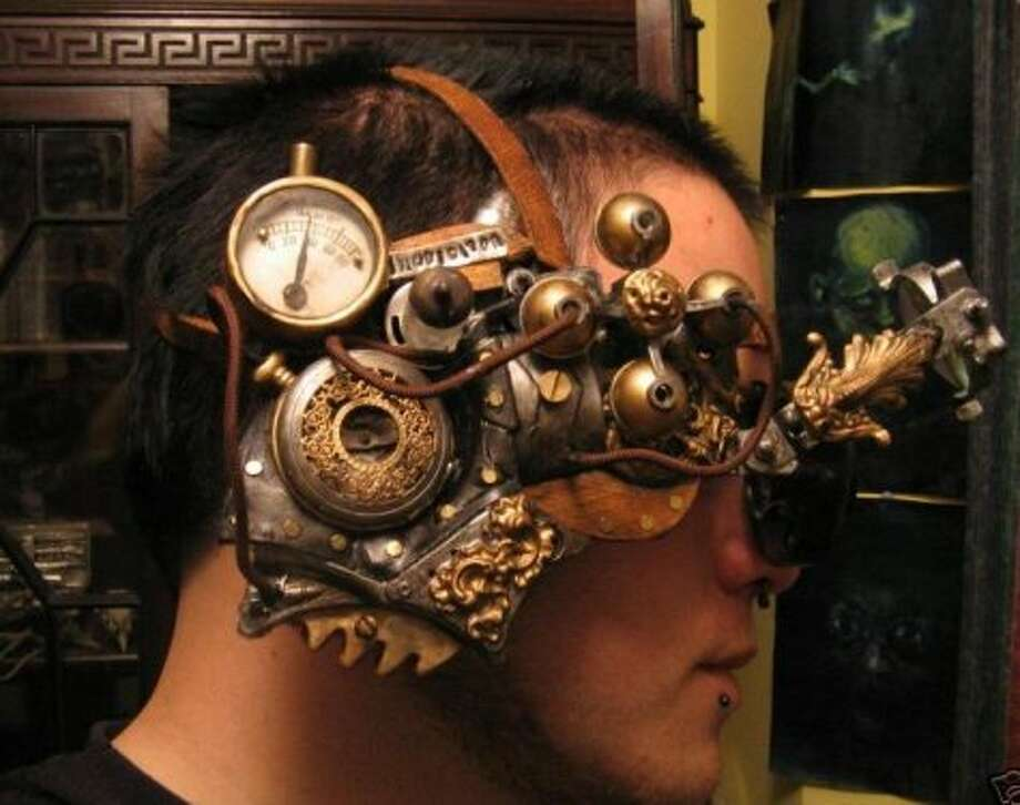 Steampunk Ocular. (Bernard Goldbach/Flickr) Photo: Multiple