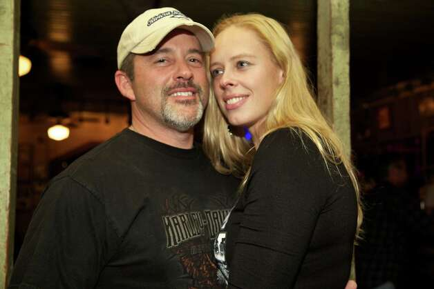 Damon Larue and Julia York are having a date night at Gruene Hall.