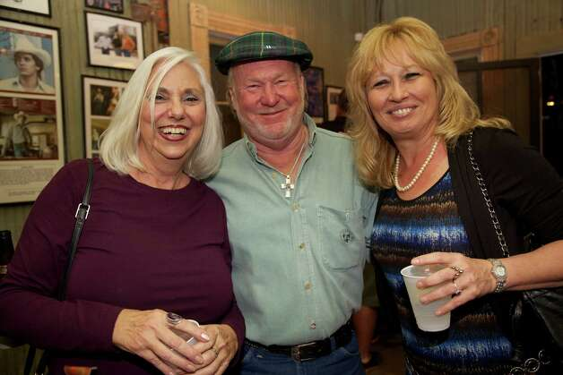 Sue Arent, Brad Herbelen, and Deb Arment are at Gruene Hall.
