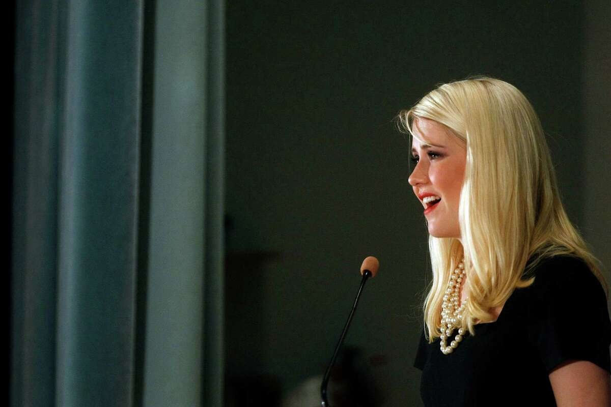 Elizabeth Smart, who was abducted at 14 years old in 2002 from her bedroom in Salt Lake City, Utah and then was found nearly a year later, shared about her suffering and abduction during a breakfast talk at the Junior League of Houston Thursday, Sept. 27, 2012, in Houston. Smart was promoting the organization ChildBuilders, which provides programs and trainings to ensure that children are respected, nurtured, and protected. Smart went into detail about her abduction, how she was molested by her abductor Brian David Mitchell and how Wanda Ileen Barzee assisted in keeping Smart with the couple hidden in public.