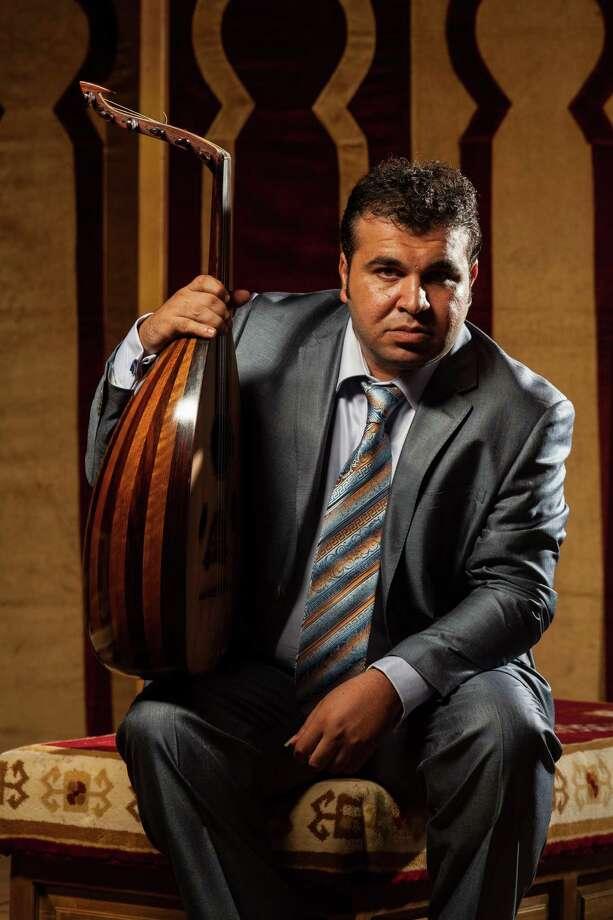 Zubair Al Awady, Iraqi Oud Musician. Photo: Jack Potts / BohemianPhotography.com Jack Potts