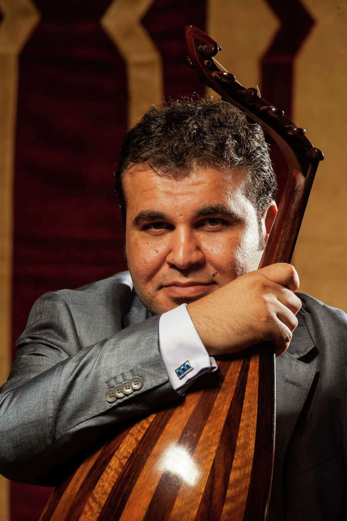 Zubair Al Awady, an Iraqi transplant who plays the oud, is among this weekend's performers.