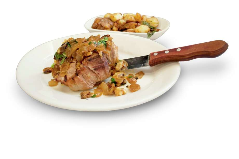 Veal Porterhouse at Maggiano's Little Italy: 2,710 calories, 45 grams of saturated fat, 3,700 milligrams of sodium. Those numbers include a side of potatoes, but the dish is still huge without them. The drizzled butter on top of the veal doesn't help.