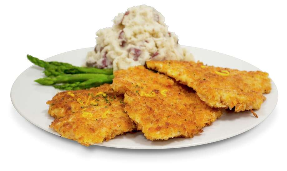 Crispy Chicken Costoletta at Cheesecake Factory: 2,610 calories, 89 grams of saturated fat, 2,720 milligrams of sodium. A calorie bomb despite coming with sides of asparagus and mashed potatoes.