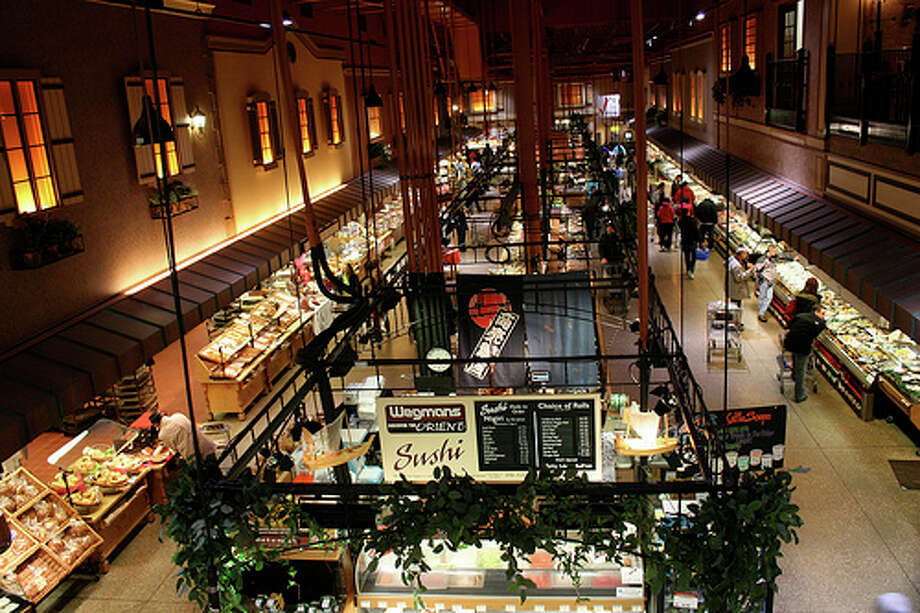 No. 5 Wegmans Food Markets: The grocery store chain ranked fifth, according to Fortune magazine. It was ranked fourth last year.Headquarters: Rochester, NYWebsite: www.wegmans.com(Photo: luluinnyc | Amy Dreher, Flickr) Photo: Luluinnyc ,  Amy Dreher,  Flickr