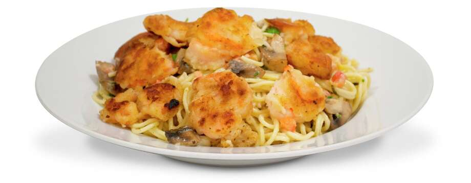 Bistro Shrimp Pasta at Cheesecake Factory: 3,120 calories, 89 grams of saturated fat, 1,090 milligrams of sodium. This is the most caloric item on Cheesecake Factory's menu and CSPI says it's 'like eating three orders of Olive Garden's Lasagna Classico plus an order of Tiramisu for dinner.'