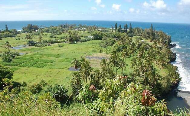 Vistas such as this one of the Keanae Peninsula are one reason readers suggest driving, not flying, to Hana. Photo: Jeanne Cooper, Special To SFGate