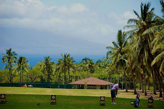 Not only are the views from its golf course impressive, as one Aloha Friday commenter noted, but the Makena Beach Golf Resort includes club and shoe rentals in its green fees. Photo: Jeanne Cooper, Special To SFGate