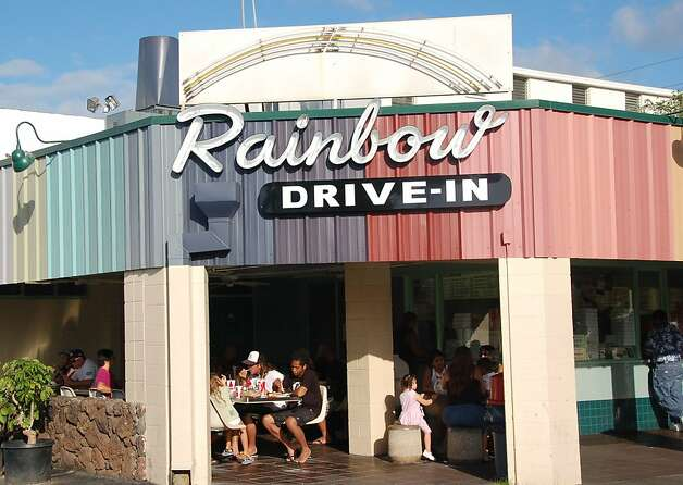 On Oahu, Rainbow Drive In remains a local favorite -- and one not too far away for Waikiki visitors to sample. Photo: Jeanne Cooper, Special To SFGate