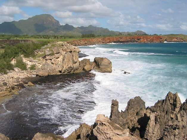 The Mahaulepu coastline, noted as a good place for a safe and easy winter hike, is also threatened by development, according to an Aloha Friday commenter. Photo: Jeanne Cooper, Special To SFGate