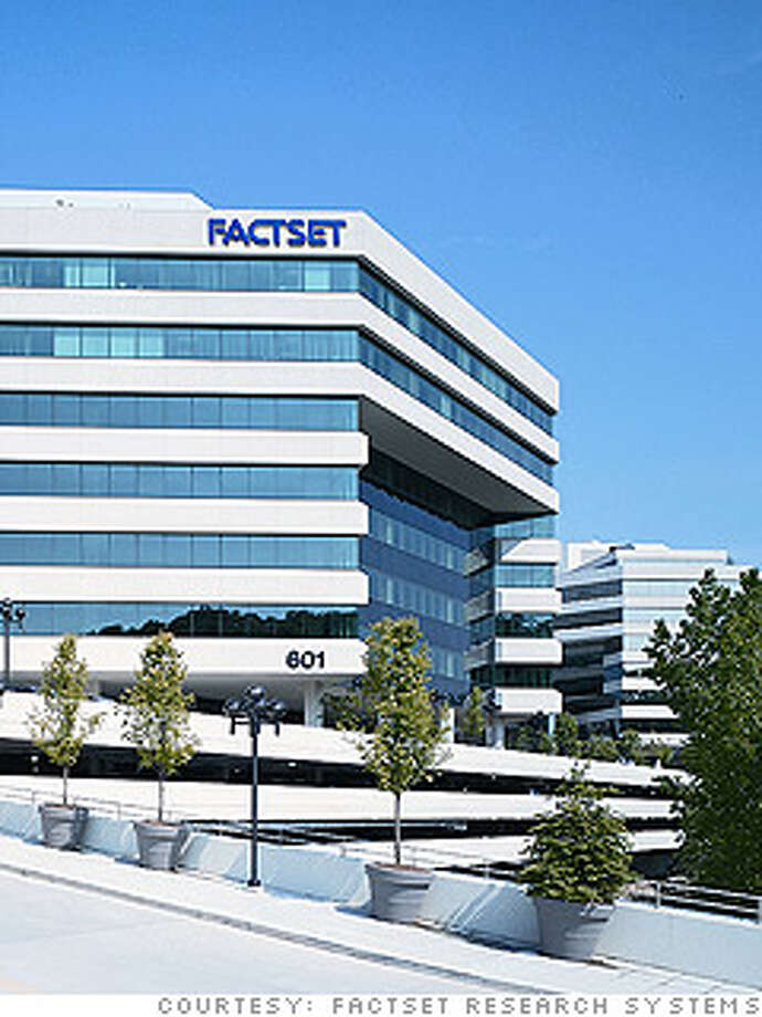 50. FactSet Research SystemsPrevious rank: 44Headquarters: Norwalk, ConnecticutSource: Fortune
