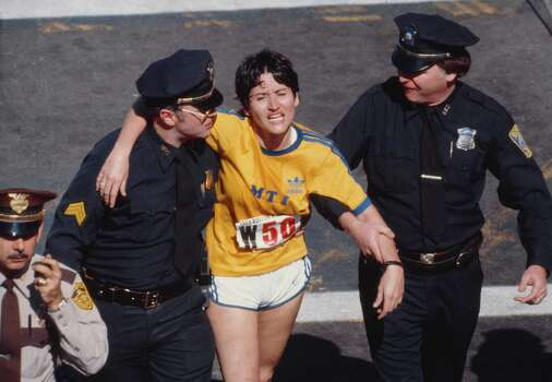 Rosie Ruiz won the female category at the 1980 Boston Marathon. However, the facts clearly didn't add up which lead to suspicion of her legitimacy. None of the other runners remembered her running the race or passing them, she didn't remember key things locations during the race, and there were witnesses who saw her burst out of a crowd of spectators near the end of the race to claim her victory. When news of her cheating came out she was disqualified and stripped of her title. Photo: Rosie Ruiz was declared the winner of the Boston Marathon in 1980, clocking in with the third fastest run in women's history at the time. But officials later said she hadn't run the whole thing - she had burst from a crowd near the finish, witnesses said - and she was stripped of her victory. Photo: David Madison, Getty Images / 1980 David Madison