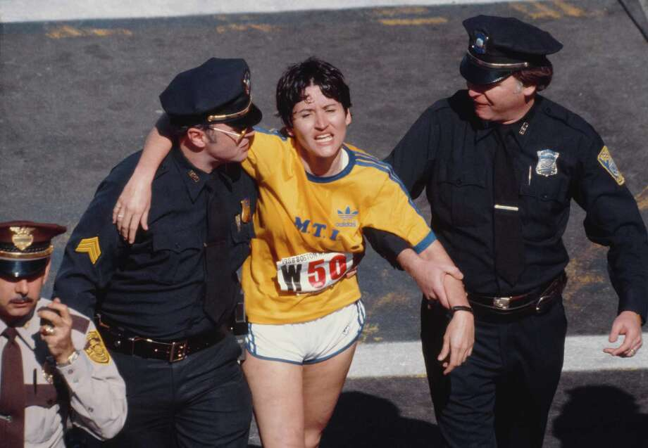 Rosie Ruizwas declared the winner of the Boston Marathon in 1980, clocking in with the third fastest run in women's history at the time. But officials later said she hadn't run the whole thing. No one remembered seeing her during the 26-mile race, and witnesses later said they saw her burst from a crowd near the finish line in her sprint to glory. Ruiz, who was stripped of her victory, continued to maintain years later that she did indeed run the race, and that people may not have seen her because her short hair made her look like a man.  Photo: David Madison, Getty Images / 1980 David Madison