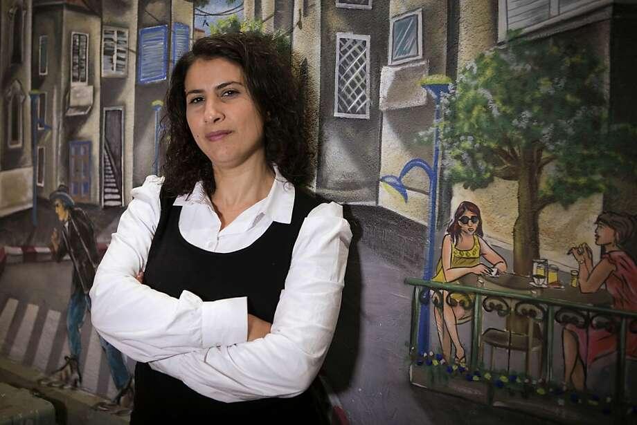 Asma Aghbaria-Zahalka heads the Daam Party. Photo: Dan Balilty, Associated Press