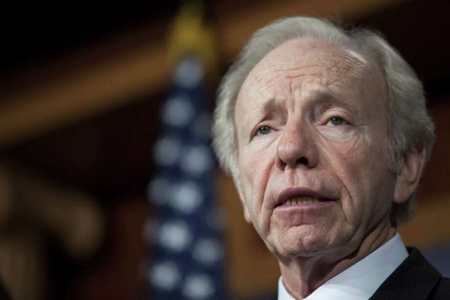 "WASHINGTON, DC - DECEMBER 31: U.S. Senator Joe Lieberman (I-CT) speaks during a press conference about their report on the Benghazi consulate attack, on Capitol Hill, on December 31, 2012 in Washington, DC. The report was released on Monday by the Senate Committee on Homeland Security and Government Affairs and cites ""extremely poor security in a threat environment."" (Photo by Drew Angerer/Getty Images) Photo: Drew Angerer, Getty Images / 2012 Getty Images"