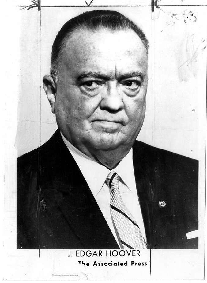 J. Edgar Hoover Photo: Associated Press