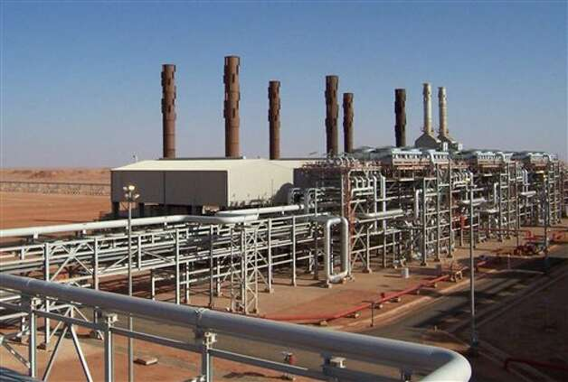 The Amenas natural gas field in the eastern central region of Algeria, where Islamist militants raided and took hostages Wednesday Jan. 16, 2013. Photo: Bp, ASSOCIATED PRESS / AP2007