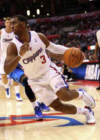 WESTERN CONFERENCE ROSTER Name: Chris Paul Position: Point guardTeam: Los Angeles ClippersAll-Star Appearances: 6 Photo: Stephen Dunn, Getty Images / 2013 Getty Images
